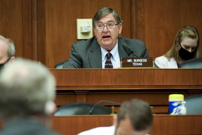U.S. Rep. Michael Burgess, R-Lewisville, gives an opening statement during the House Energy and Commerce Subcommittee on Hea…