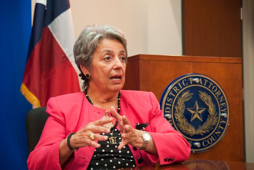 District Attorney for Harris County, Pat Lykos.