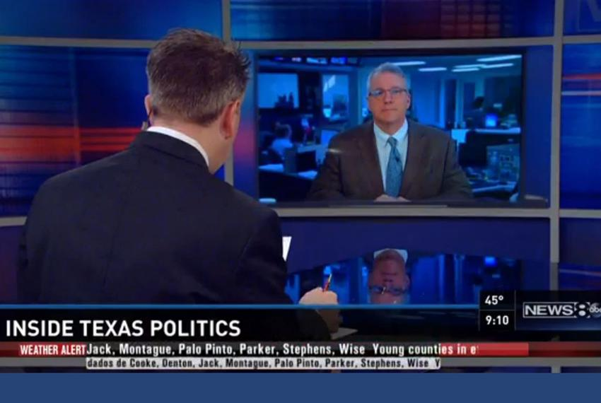 Texas Tribune Executive Editor Ross Ramsey on Inside Texas Politics on Feb. 22, 2015.