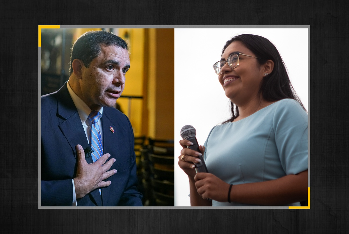Henry Cuellar and Jessica Cisneros duke it out in Texas primary