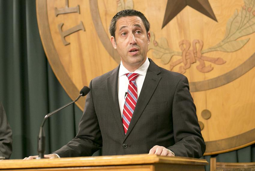 Texas Comptroller Glenn Hegar announces his office has picked a private vendor to run the Texas Bullion Depository, which ...