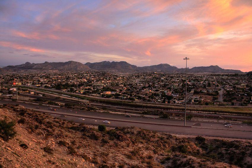 El Paso and its sister city, Ciudad Juárez.