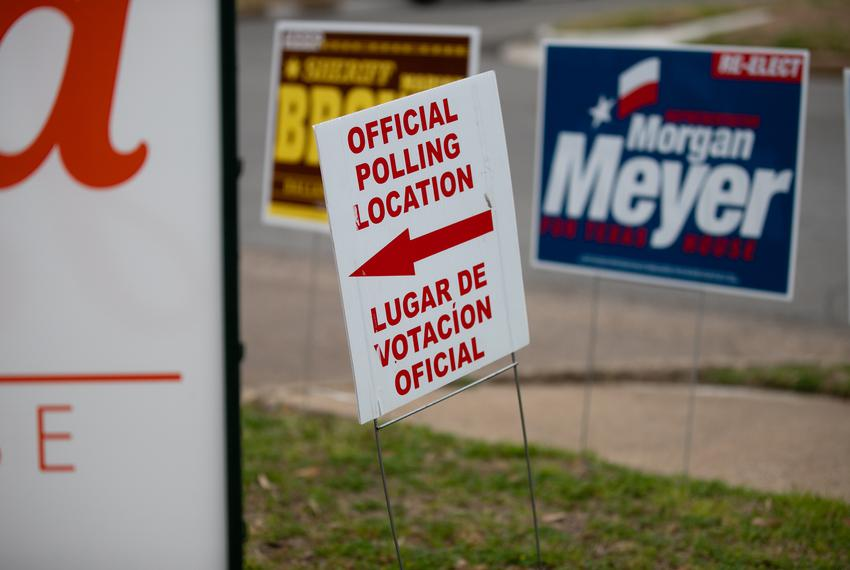 Dallas voters cast their ballots during the 2020 primary on March 3, 2020.