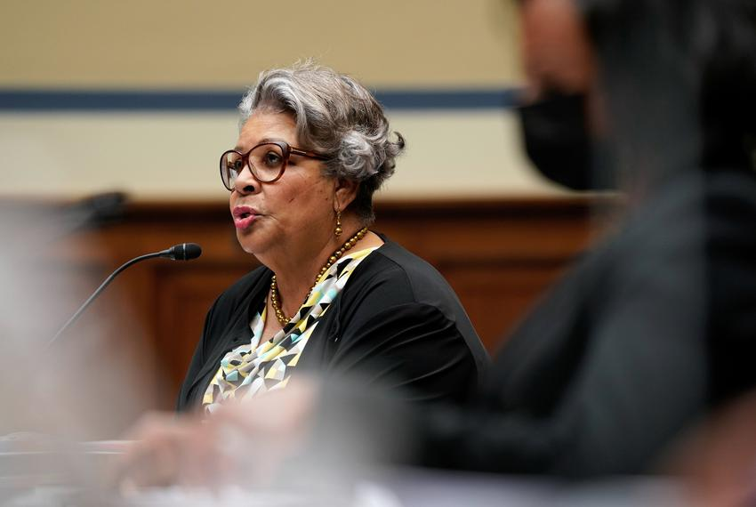 State Rep. Senfronia Thompson, D-Houston, testified at a House Oversight and Reform's Civil Rights and Civil Liberties Subco…