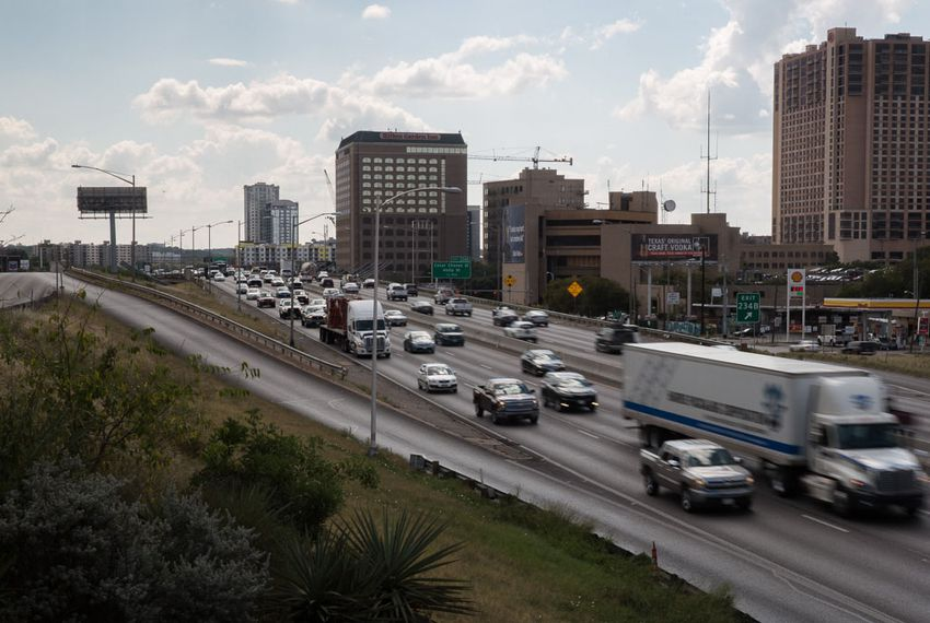 I-35 tops the 2015 list of the 100 most congested roadways in Texas compiled by the Texas A&M University Texas Transportation Institute.
