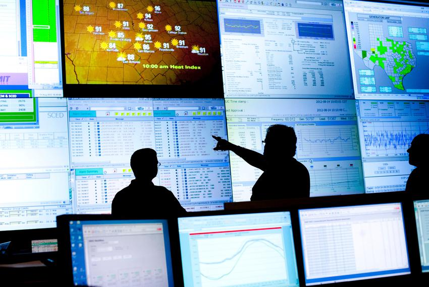 Reliability Coordinators monitored the state power grid during a tour of the Electric Reliability Council of Texas (ERCOT) c…