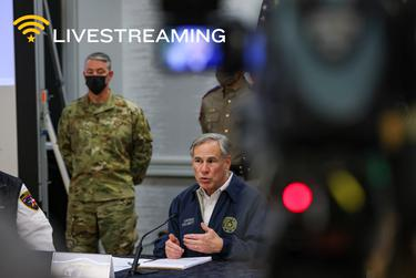 Watch live: Gov. Greg Abbott to deliver statewide address on winter storm response at 6 p.m. Central