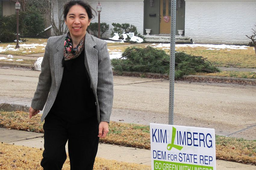 Limberg, a Democratic candidate for the Texas House from Irving.