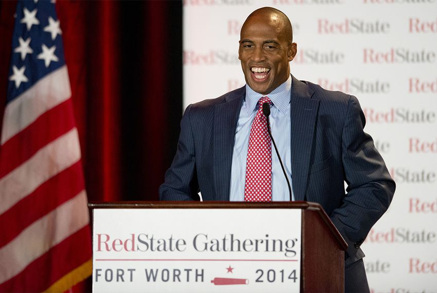 State Rep. Scott Turner, R-Frisco, spoke at the RedState Gathering in Fort Worth on Aug. 8, 2014.