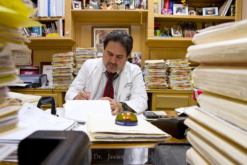 Dr. Javier Saenz has struggled to keep his South Texas clinic open in the wake of legislative cuts to physicians treating pa…