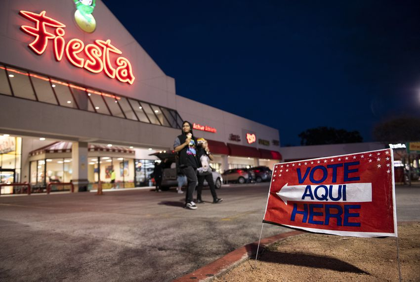 The Texas primaries start in less than two weeks, with the early voting leading up to the March 3 election.