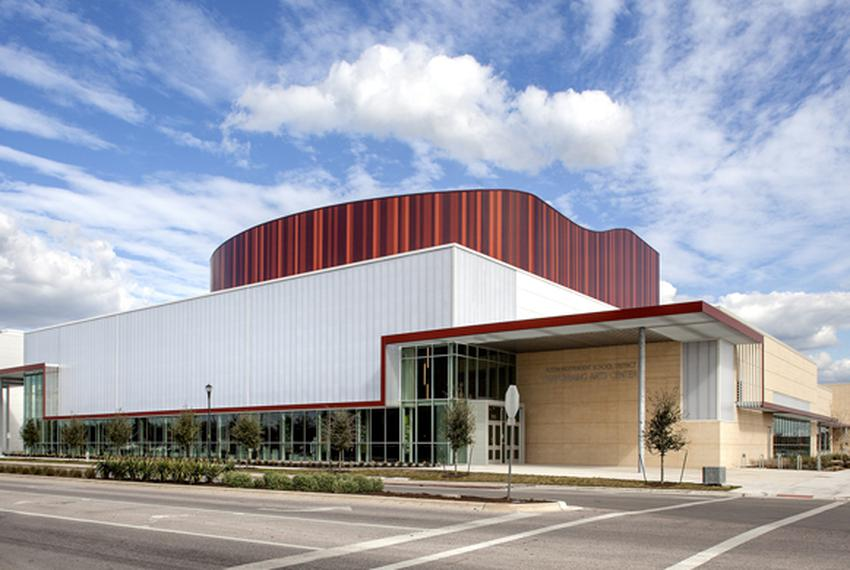 The Austin Independent School District's Performing Arts Center.