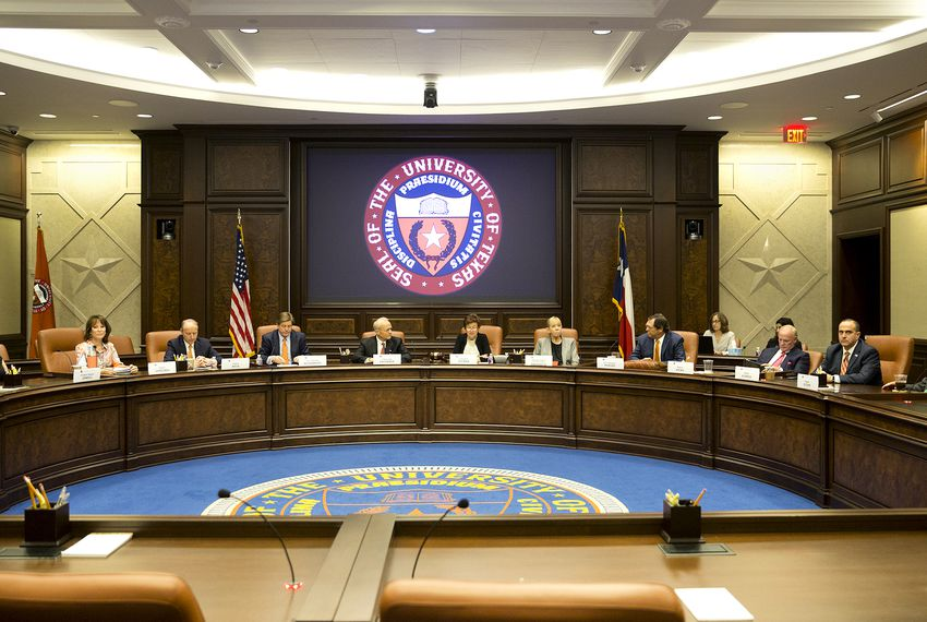 Special called meeting of the UT Board of Regents where they named J.B Milliken as the new Chancellor on August 4, 2018