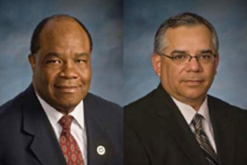 Earl Pearson and Andy Peña from the Texas Alcoholic Beverage Commission.