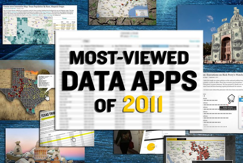 2011 Top Data Apps Salaries Prisons Public Schools The Texas