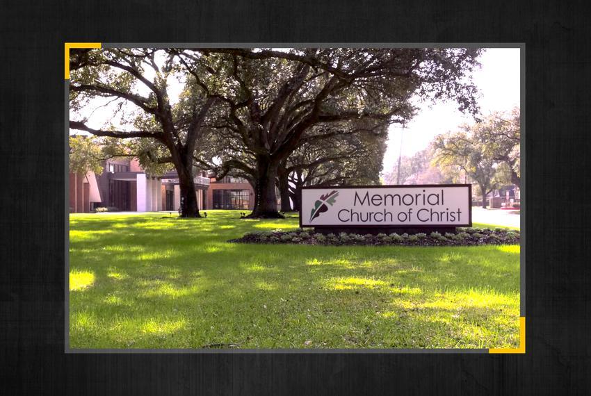 Memorial Church of Christ in Houston.