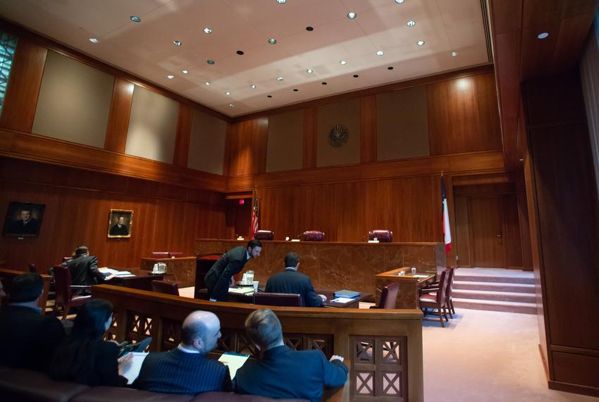 The Texas Third Court of Appeals in Austin on Oct. 17, 2018.