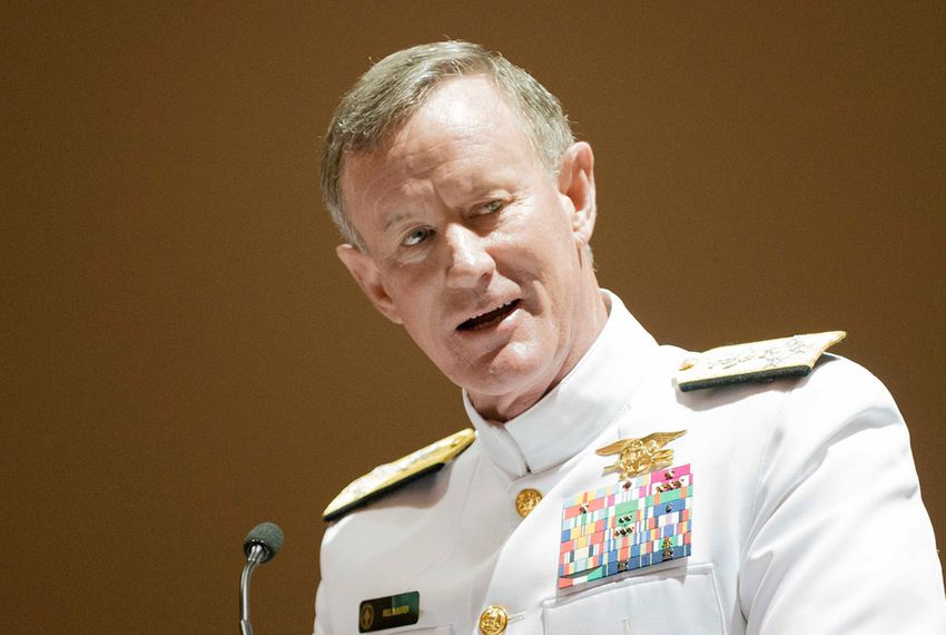 Retired Admiral William McRaven, shown last year, took over as chancellor of the UT System on Jan. 5.