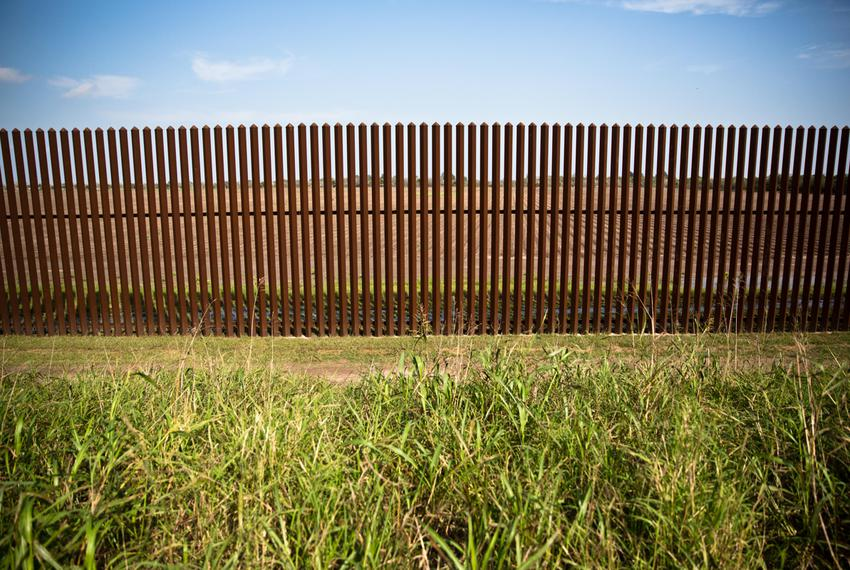 """To promote regular wildlife movement for animals like endangered ocelots, """"cat holes"""" were built in the border fence at 8...."""