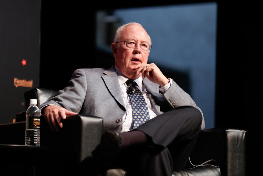 Ken Starr at The Texas Tribune Festival on Sept. 23, 2017.
