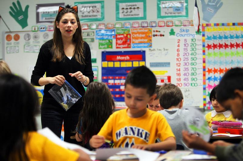 Wanke Elementary School in north San Antonio, Friday, March 9, 2012