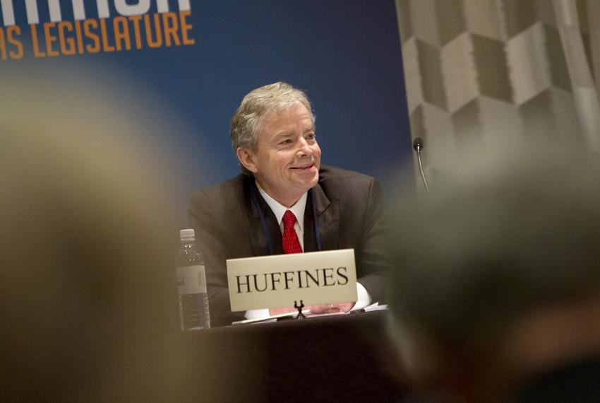 Former State Senator Don Huffines, R-Dallas, during a Texas Public Policy Foundation event on Feb. 8, 2018.