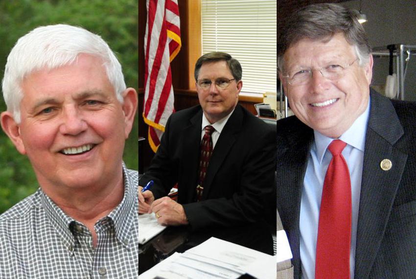 Michael Banks, Allan Cain, Chuck Hopson