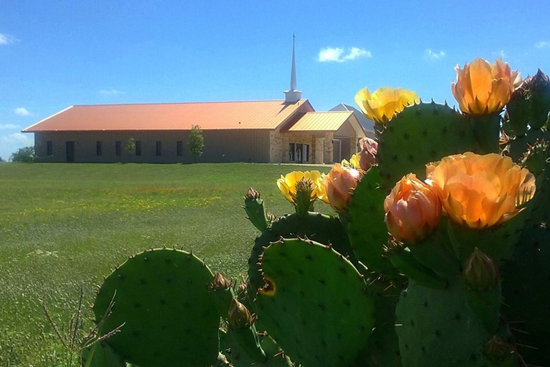 Champion Baptist Church in Roscoe, west of Abilene, is among several West Texas churches grappling with high power line prices.