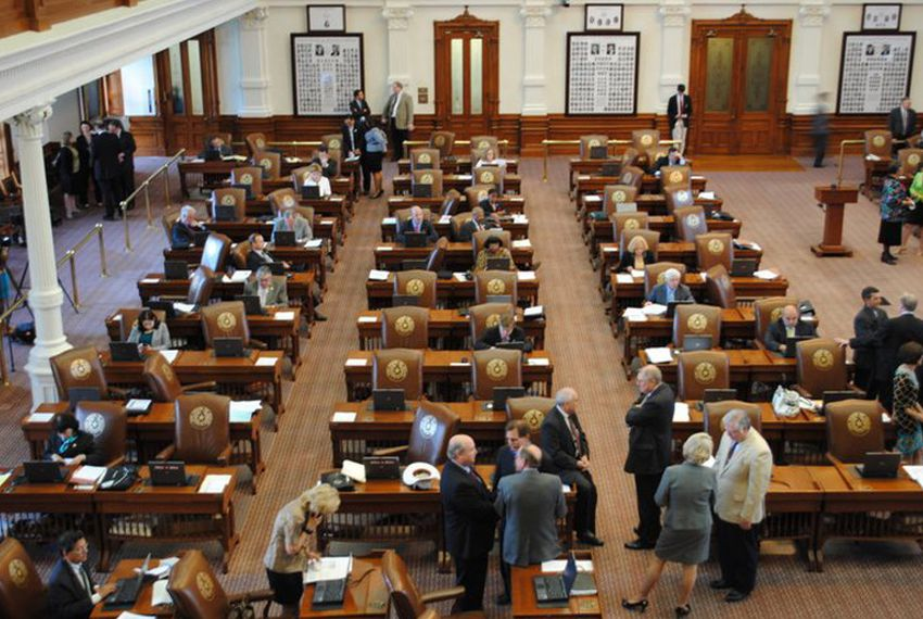 Photos of Texas House Members who showed up for work Monday, June 27, 2011.