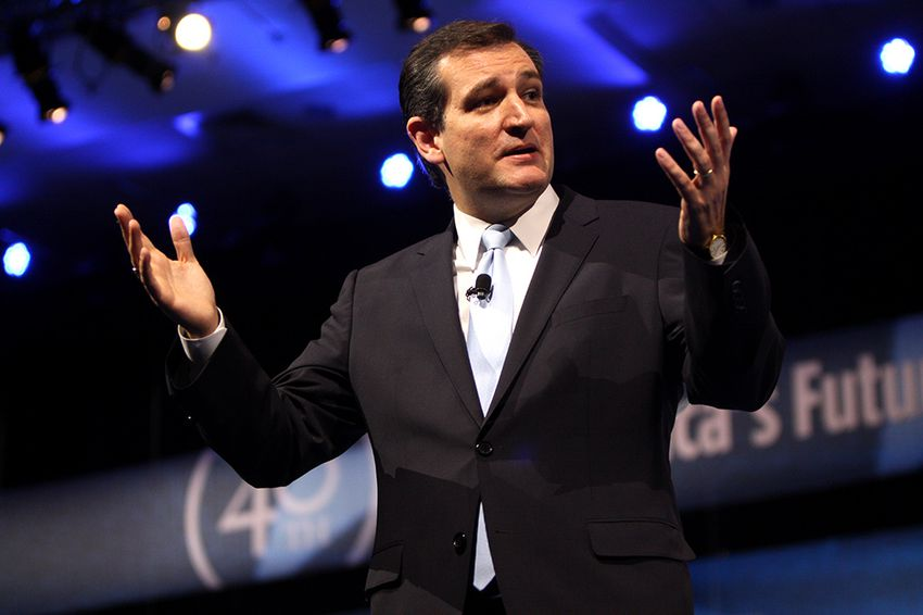 U.S. Sen. Ted Cruz at the 2013 Conservative Political Action Conference on March 16, 2013.