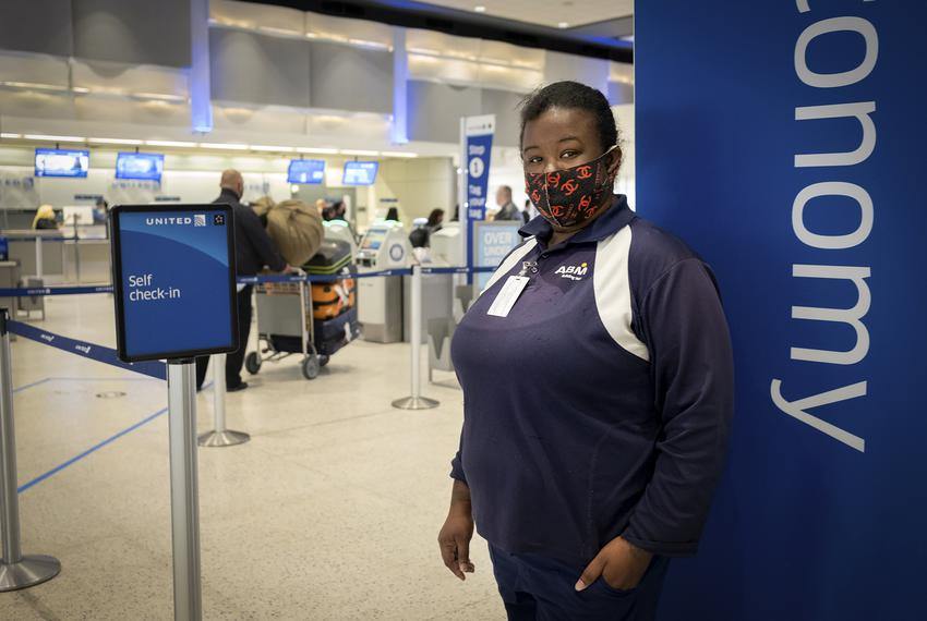 Monique Warren works as a baggage handler at George Bush Intercontinental Airport in Houston. Warren earns $9/hour, and is a…