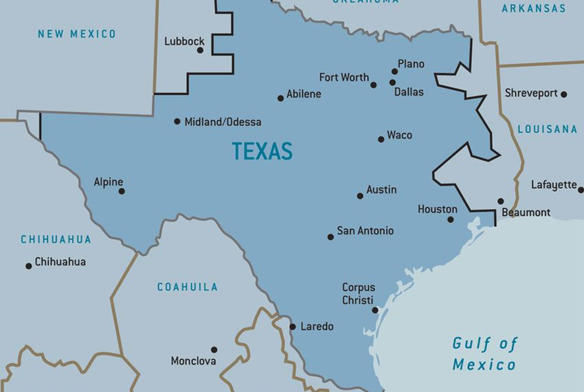 Map Of Texas During The Alamo.Texplainer Why Does Texas Have Its Own Power Grid The Texas Tribune