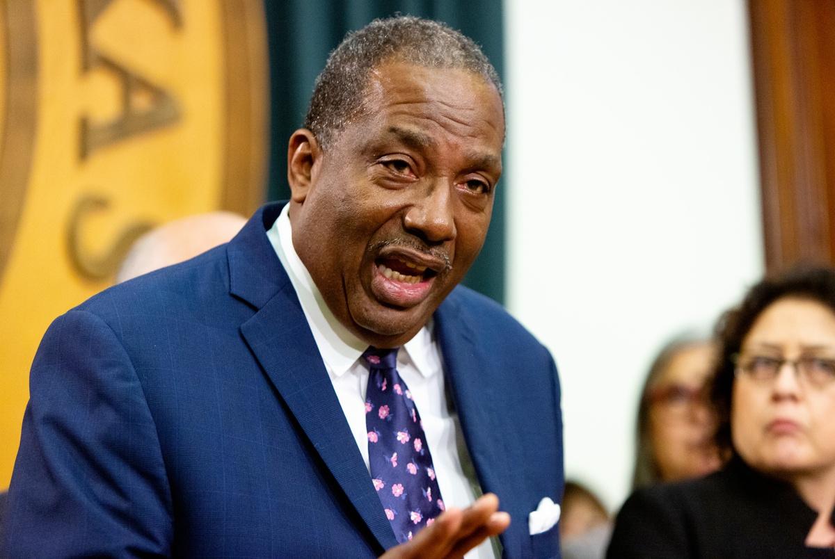 State Sen. Royce West enters Democratic primary to challenge John C...