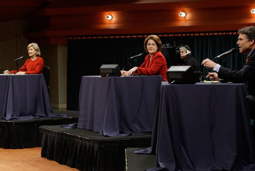 GOP gubernatorial debate at The University of North Texas