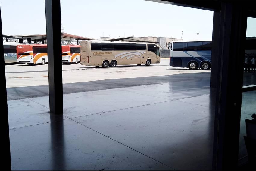 The Monterrey Bus Station on Aug. 7, 2019.