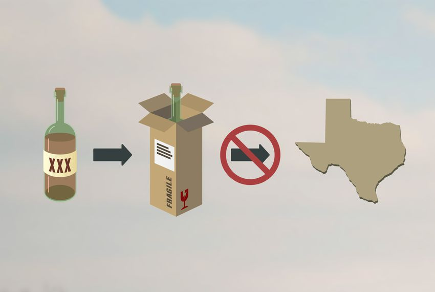 Here's why it's hard for Texans to get alcohol shipped