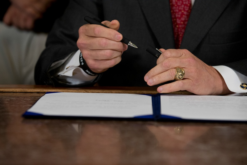 Gov. Rick Perry has issued 25 executive orders throughout his tenure — a relatively low number.