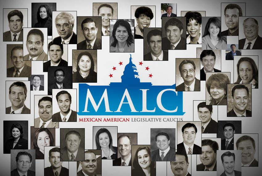 Members of the Mexican American Legislative Caucus