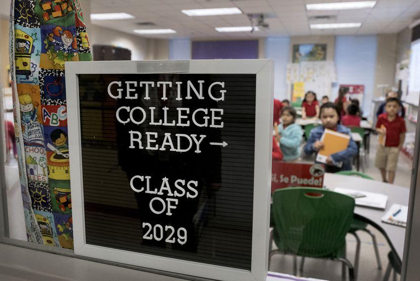 Ogden Elementary in San Antonio on April 30, 2018.