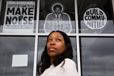 Shareefah Mason is an 8th-grade history teacher at Zumwalt Middle School in Dallas. Mason frequently volunteers at For Oak Cliff, a non-profit that focuses on education, community building, advocacy, and art in the Oak Cliff area of Dallas.