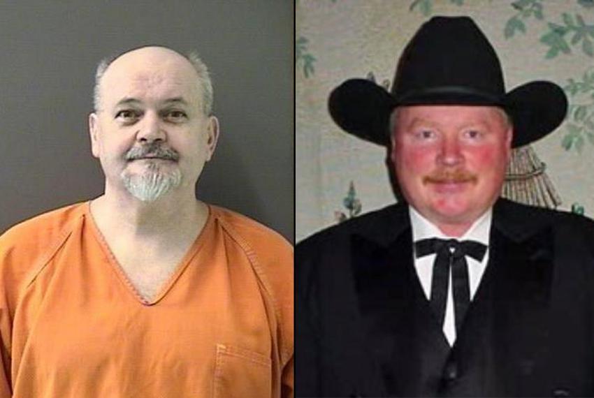 David Risner (left) and Chief Lee Dixon.