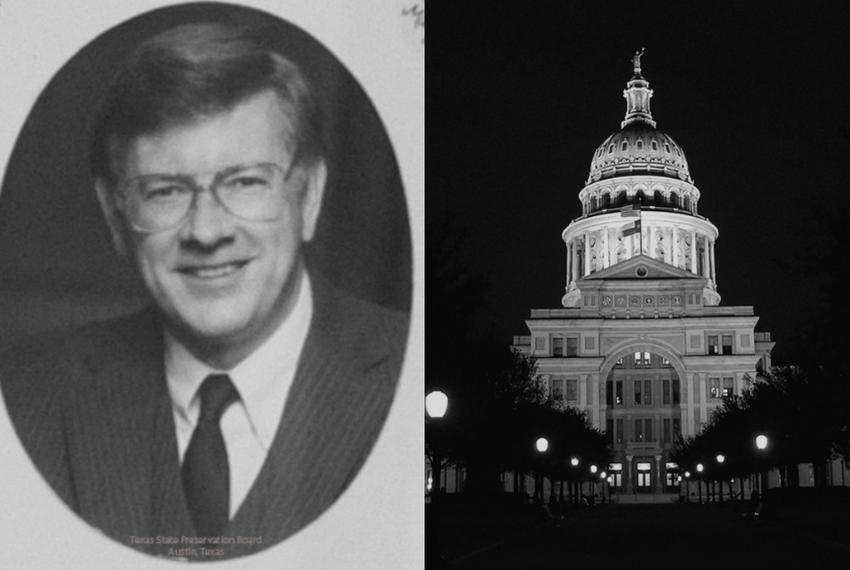 Former state Senator Ray Farabee, who died Thursday, Nov. 20, 2014.