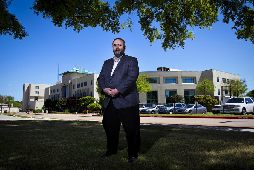 Terry Scoggin, CPA, Chief Executive Officer of Titus Regional Medical Center in Mt. Pleasant on April 15, 2020.