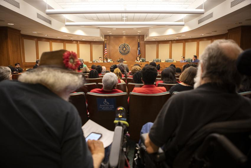 House Elections Committee hearing on SB9 at the Capitol on May 15, 2019.