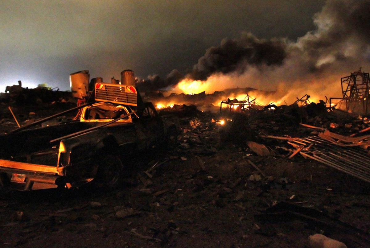 West, Texas fertilizer explosion spurred safety rules Trump is rescinding
