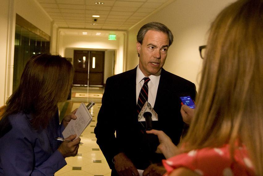 July 9th, 2012: Speaker Joe Straus speaks to reporters