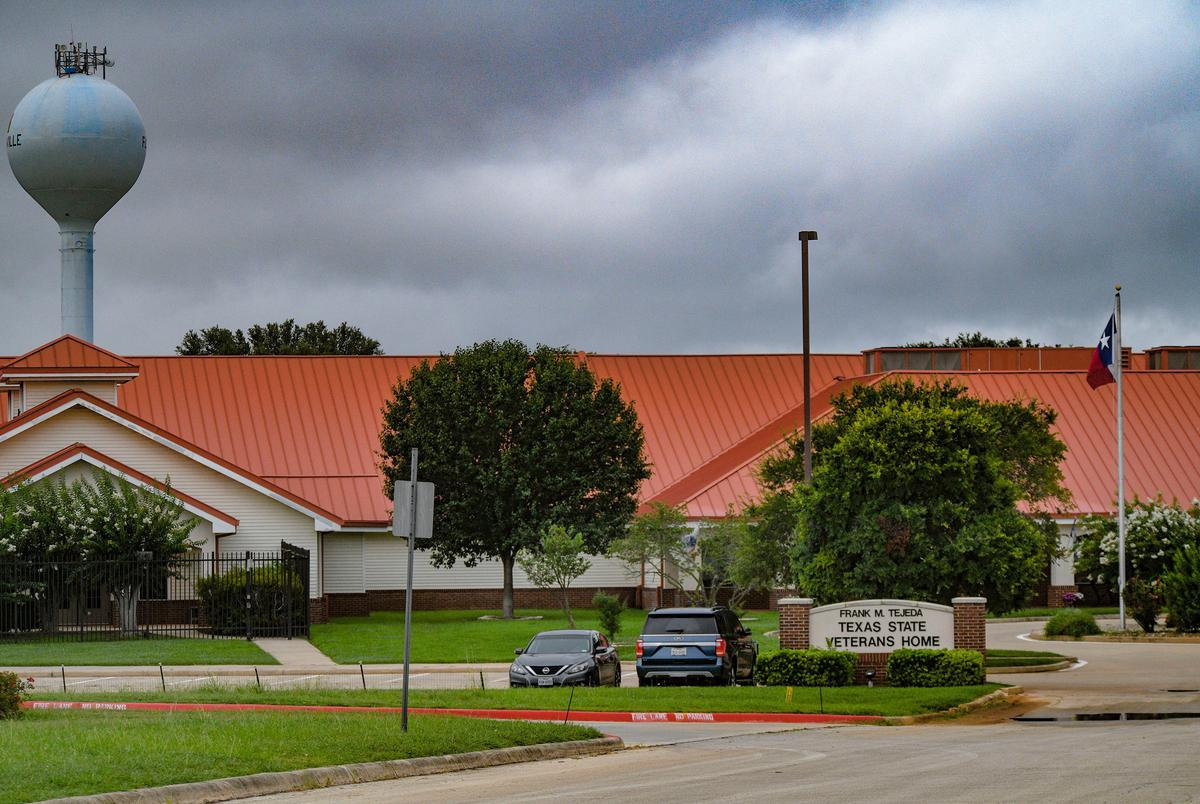 The Texas State Veterans Home is located in Floresville and is administered by the Veterans Land Board. Land Commissioner George P. Bush's General Land Office hires the for-profit contractors who run the facility.