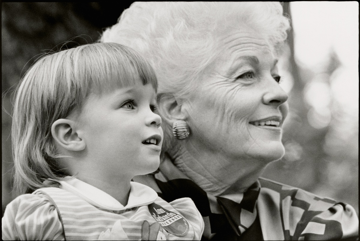 Lily Adams helped her grandmother Ann Richards win Texas. Can she g...