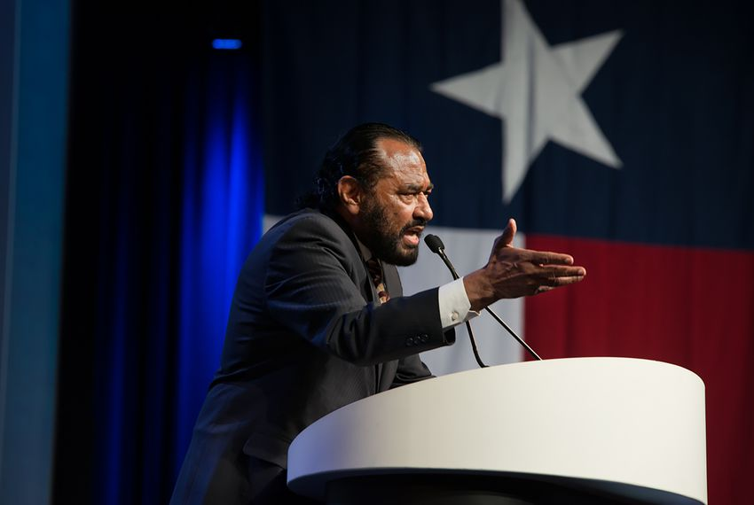 U.S. Rep. Al Green, D-Houston, spoke at the Texas Democratic Convention on June 23, 2018.