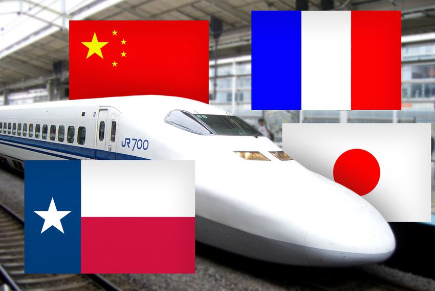Texas Rail Prospects Tempt French, Chinese, Japanese | The